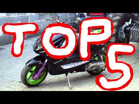 Топ 5 скутеров для новичков/Top 5 scooters