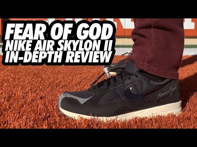 valor aborto hierba  FEAR OF GOD NIKE AIR SKYLON 2! MOST UNDERRATED SHOE OF 2018?! - YouTube