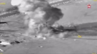 Российские военные вычислили и уничтожили засекреченный крупнейший арсенал боевиков в Сирии
