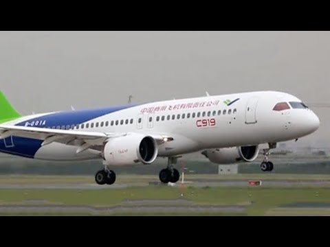 China's C919 jet completes second test flight