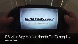 PS Vita - Spy Hunter Gameplay & Upgrades Hands On