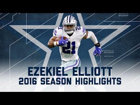 Ezekiel Elliott's Best Highlights from the 2016 Season | NFL
