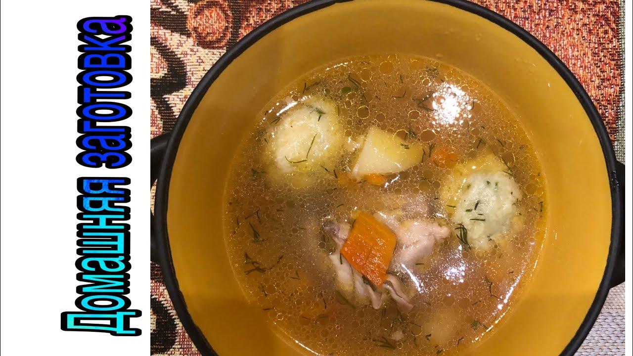 Суп куриный с сырными шариками эпизод №189