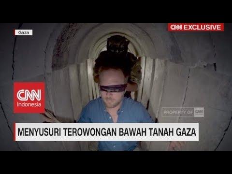 Menyusuri Terowongan Bawah Tanah Gaza