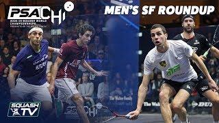 Squash: Men\'s SF Roundup - PSA World Championships 2018/19