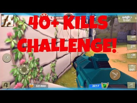 Blitz Brigade 40+ Kills Challenge!