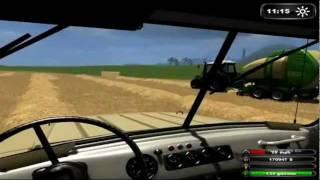 Farming Simulator 2011 sourceplay комбайнёры