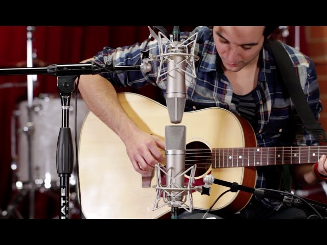 How to Record Acoustic Guitar Using the M/S Mic Technique