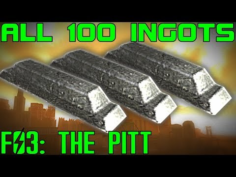 Fallout 3: The Pitt - ALL 100 Steel Ingots Guide (DLC)