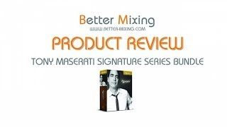 Waves Tony Maserati Signature Series In-Depth Review