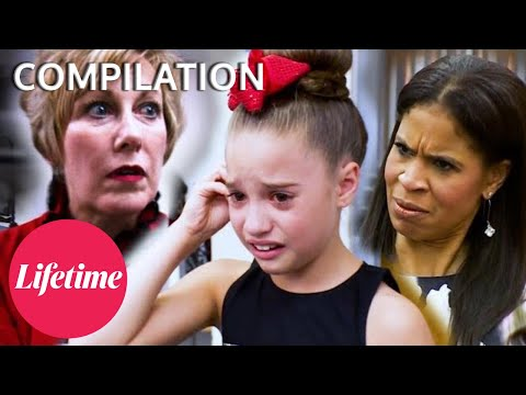 """""""MANIPULATE THE NUMBERS"""" Age DRAMA at Competition! - Dance Moms (Flashback Compilation)   Lifetime"""