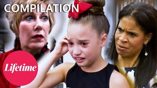 """MANIPULATE THE NUMBERS"" Age DRAMA at Competition! - Dance Moms (Flashback Compilation) 