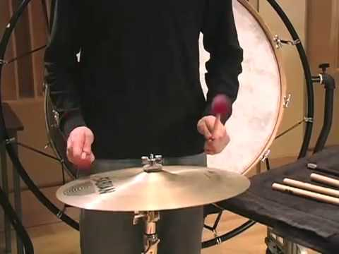 Percussion 101: Suspended Cymbal - Vic Firth
