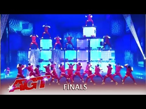 V. Unbeatable: Indian Group BLOW The Judges Away In Final Performance | America's Got Talent 2019
