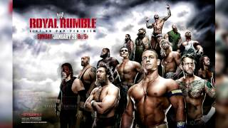 WWE Royal Rumble 2014 - Official Poster & Custom Theme -