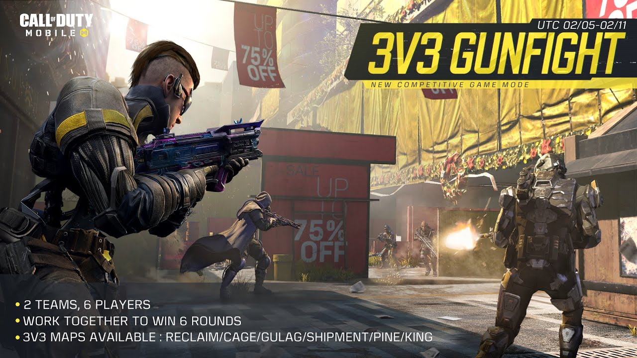Call of Duty®: Mobile - 3v3 Gunfight Mode
