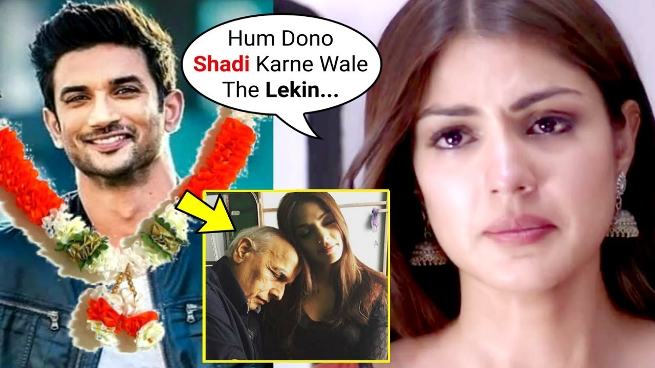 Sushant Singh Rajput Girlfriend Rhea Chakraborty Confirms Marriage