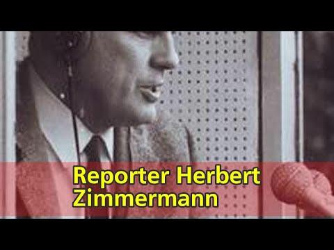 Reporter Herbert Zimmermann