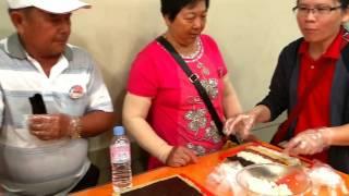 韓國文化體驗營,參觀海苔工廠,紫菜捲DlY 製作記錄影片集20170628