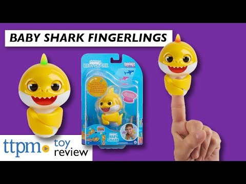 Pinkfong Baby Shark Fingerlings from WowWee