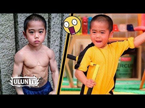 BOCAH AJAIB! Anak Ini Memiliki Tubuh Yg Sangat Kekar Dan Memiliki Kecepatan Setara Dengan Bruce Lee