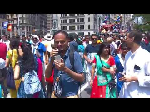 Rath Yatra,5th Ave,NY,USA 2018(By Tushar Roy)on June,9