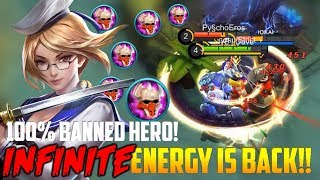 YOU WILL BAN FANNY AFTER SEEING THIS! MOBILE LEGENDS FANNY INFINITE TORNADO GAMEPLAY!