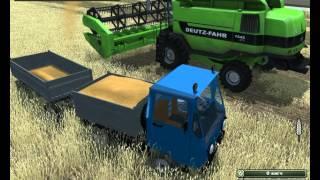 Скачать бесплатно Мод  автомобиля с прицепом Мультикар Multicar для игры  Farming Simulator 2013