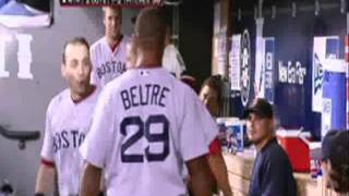 Adrian Beltre head touching
