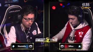 12月26日SL星际战队联赛季后赛冒泡赛3进2 XTeam Nostalie vs LeiFeng Miso