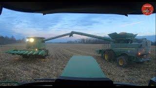Corn Harvest VLOG for Sunday November 11, 2018