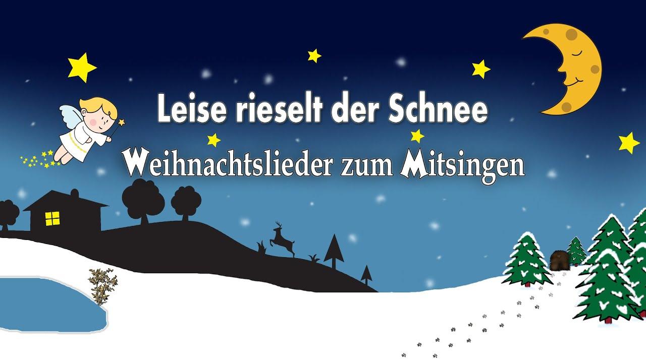 Weihnachtslieder deutsch - Leise rieselt der Schnee - Instrumental ...
