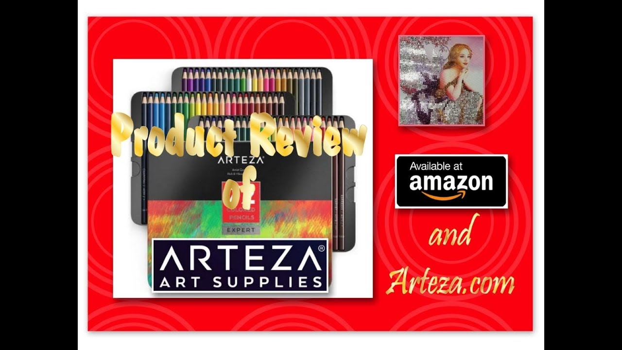 Arteza Address All These Beautiful Colors Product Review Arteza Art Supplies