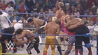 WWE Network: Two-ring 20-Man BattleBowl: Starrcade 1991