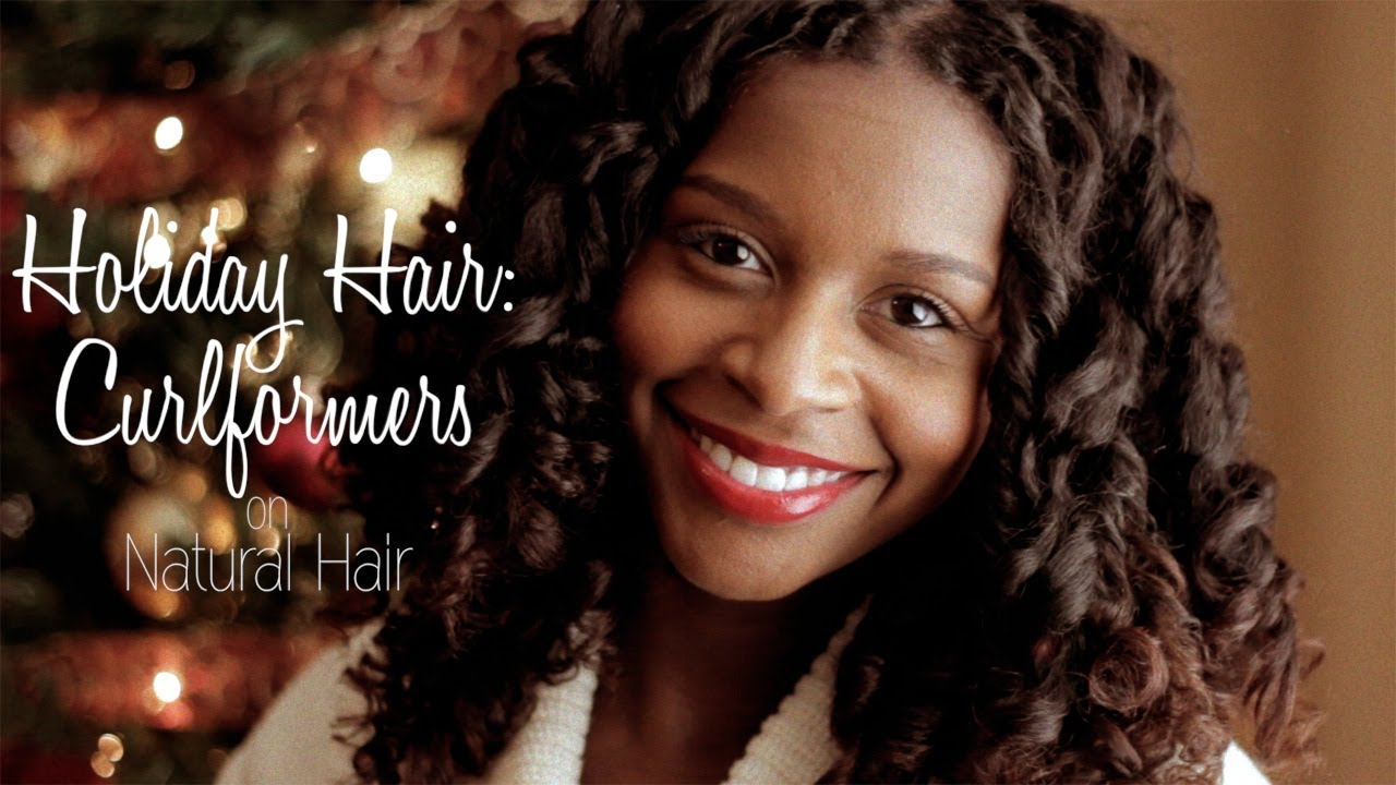 holiday hair curlformers natural