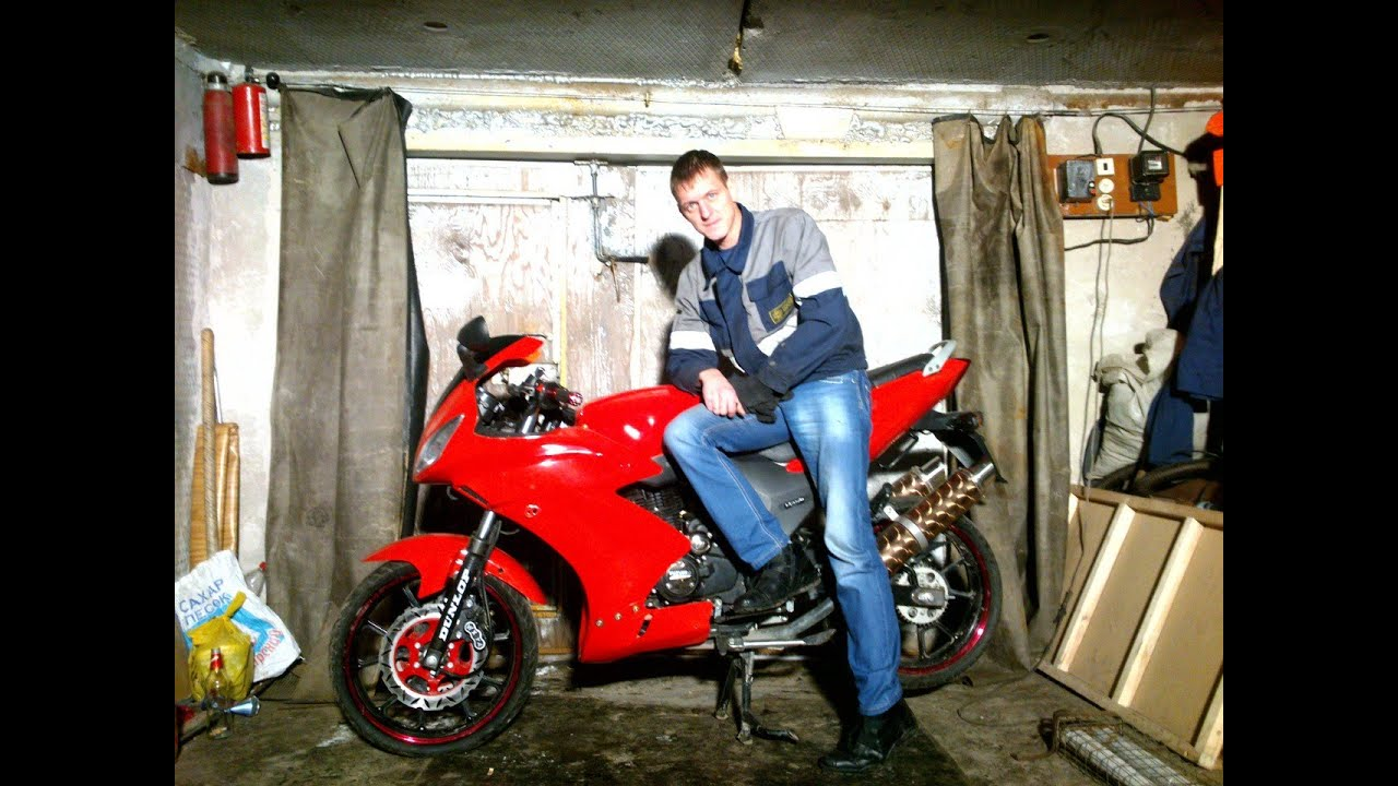 Мотоцикл для начинающих. Обзор Suzuki SXR 250. - YouTube