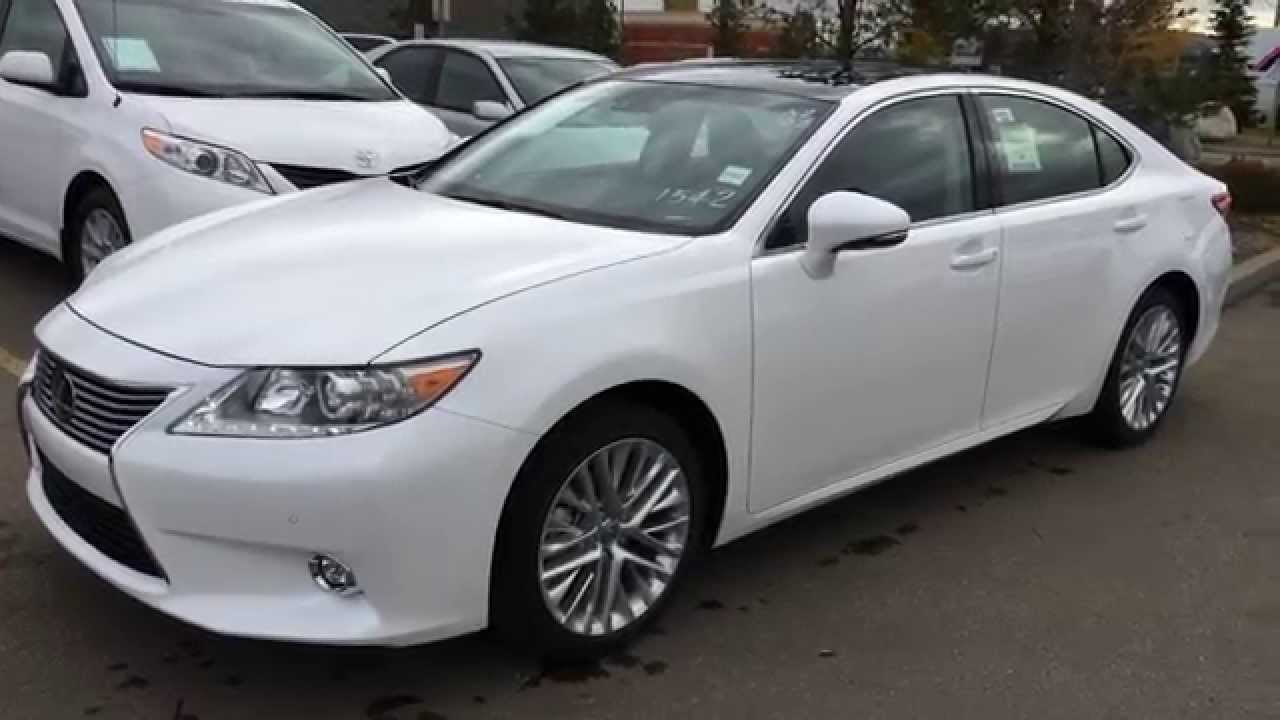 2015 lexus es 350 executive package walk around review. Black Bedroom Furniture Sets. Home Design Ideas