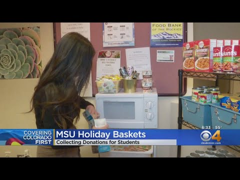 Metropolitan State University Of Denver Food Pantry Hopes It Can Help Beat The Holiday Blues