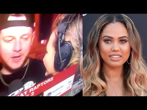 Shay Diddy - Raptors Fan Completely DISRESPECTS Ayesha Curry On LIVE TV!
