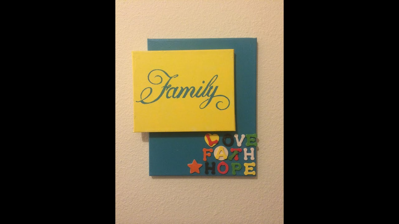 DIY wall art project. Get some new ideas of how to spruce up your ...