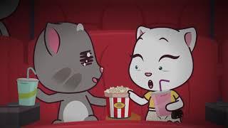 Love, Hearts, and Kisses ❤️ Talking Tom & Friends Minis Cartoon Compilation screenshot 2