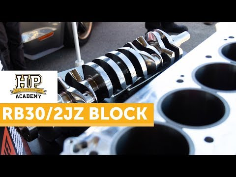 3200HP+ RB Block With A 2JZ Twist | 100PSI of Boost, Bullet Race Engineering [TECH TALK]