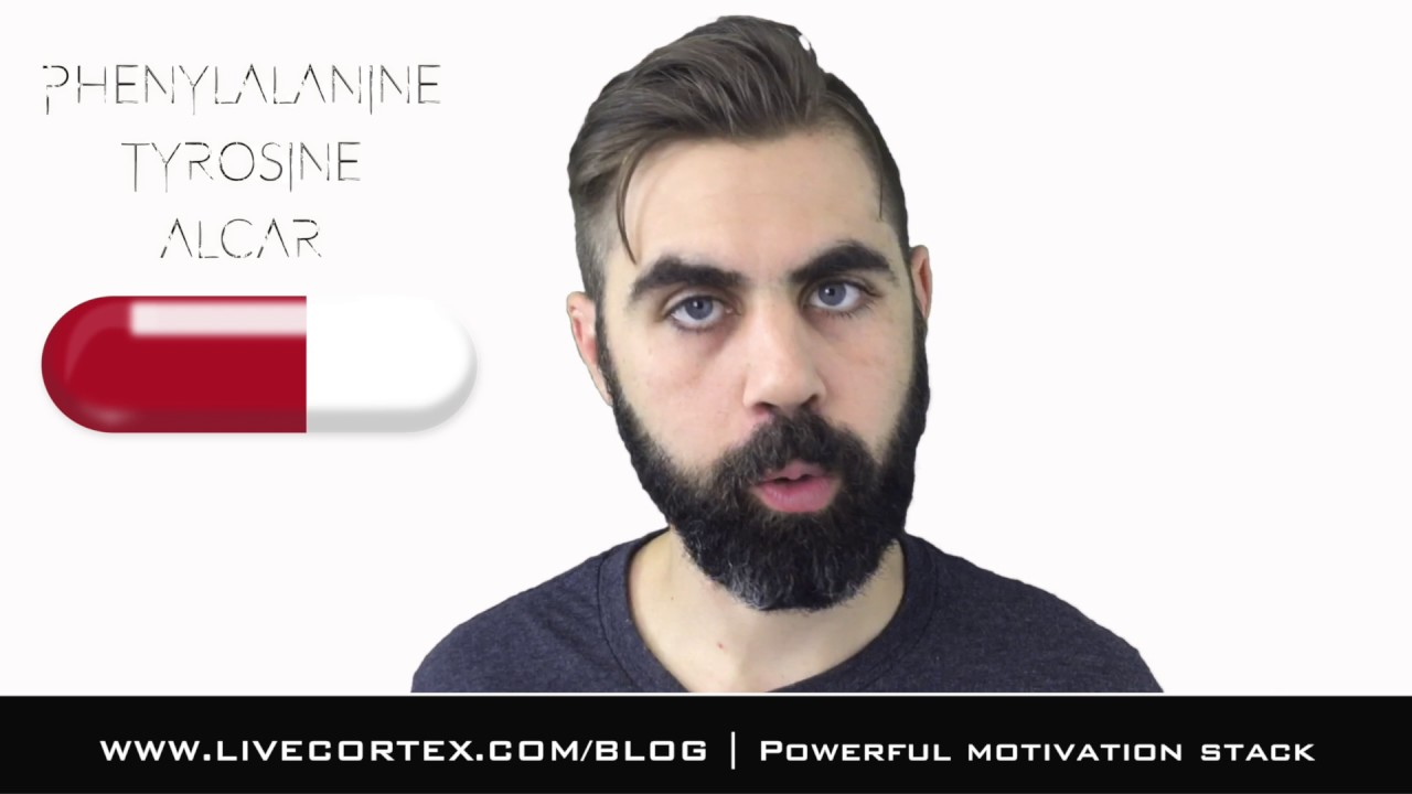 The Ultimate Motivation Nootropic Stack Phenyl Tyro Alcar Youtube