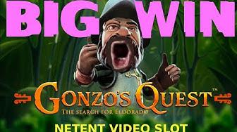 GONZO'S QUEST BIG WIN - bonus hunting