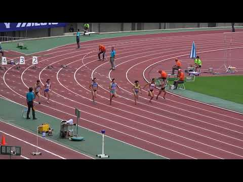 Nat'l Corp Champ2017 Women's100m heat1 Masumi AOKI11.78(+0.0) 青木益未 寺井美穂 松永莉奈