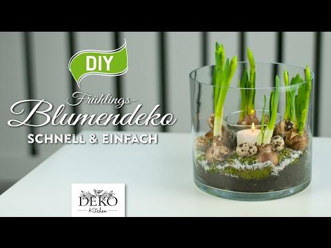 DIY: Frühlings-Blumendeko schnell & einfach [How to] Deko Kitchen