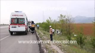 Karaman Haber : Konya Karaman Yolu Trafik Kazası