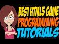 Best HTML5 Game Programming Tutorials