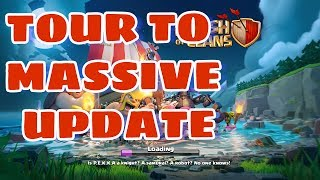 Clash of Clans | Tour to BUILDER'S VILLAGE| Update Released|