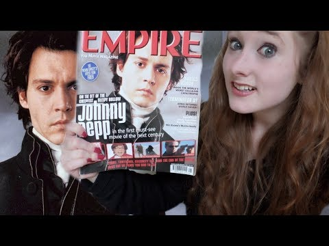 *ASMR* Nostalgia: Soft-Spoken Leafing through Empire Magazine (January 2000) | Amy McLEan